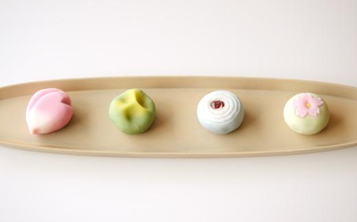 季節の上生菓子 4個入