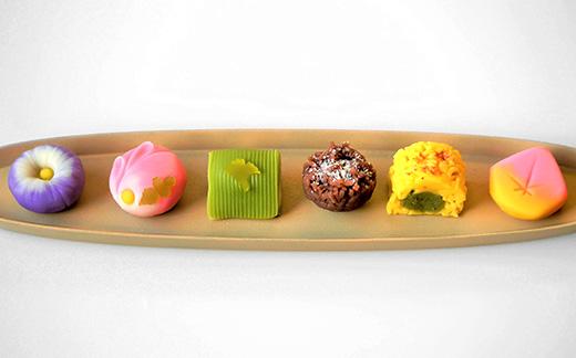 季節の上生菓子 6個入