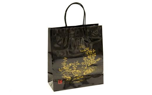 黒紙袋 L