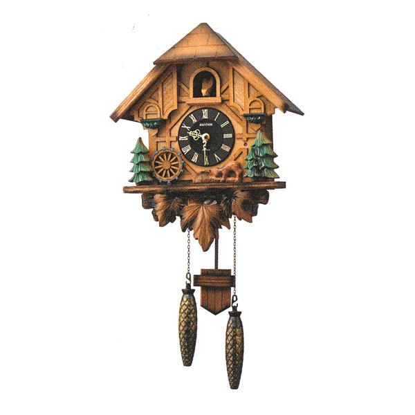 はとトケイ ハト時計 壁掛け時計 カッコーティンバー リズム時計 RHYTHM 掛時計 4MJ423SR06 文字名入れ不可 取り寄せ品