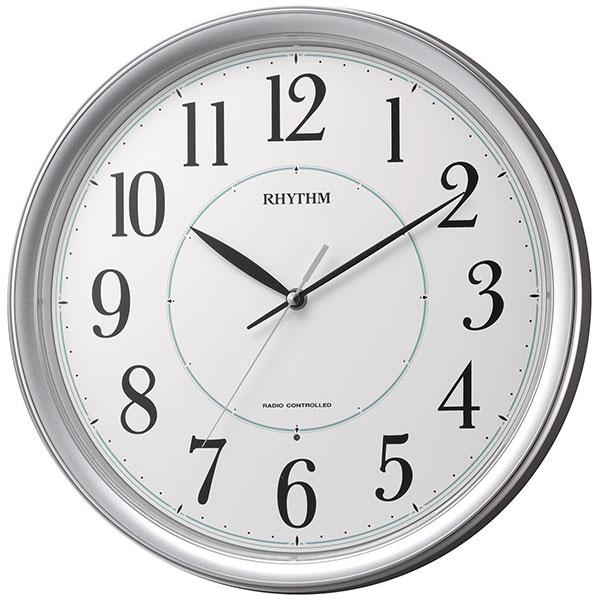 暗くなると秒針を止め 音がしない 壁掛け時計 電波時計 8MY494SR19 連続秒針 スイープ 文字入れ不可 ZAIKO