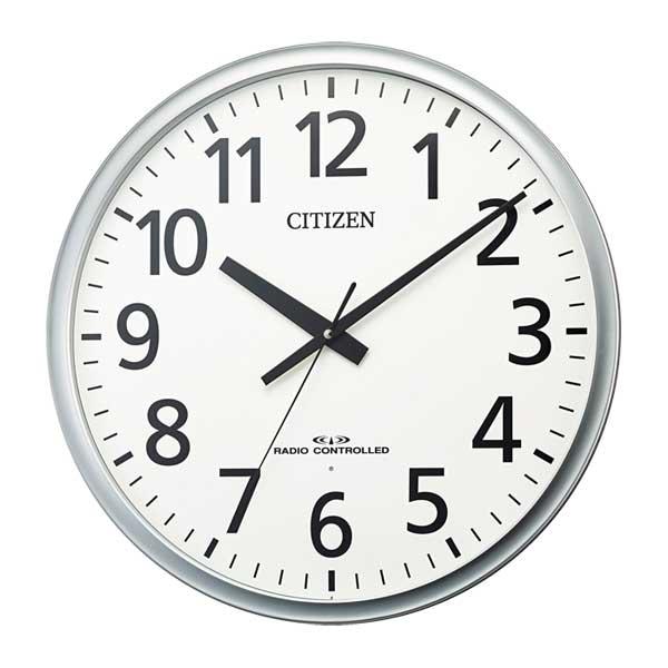 シチズン CITIZEN 直径500mm オフィスタイプ 壁掛け時計 電波時計 8MY547-019 ウラ面のみ文字 名入れ 対応、有料 取り寄せ品