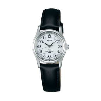 ALBA アルバ AEGD543 ソーラー 女性用 腕時計 名入れ刻印対応、有料