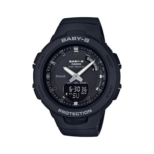 スマホと連携 歩数計付き 女性用 腕時計 カシオ ベビーG BSA-B100-1AJF CASIO Baby-G デジアナ 国内正規品  取り寄せ品