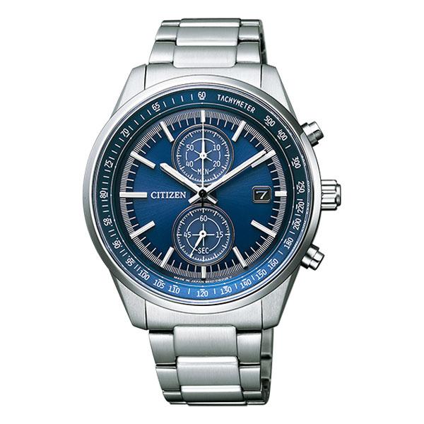 シチズン ソーラー 腕時計 メンズ クロノグラフ CA7030-97L 名入れ刻印対応、有料 取り寄せ品