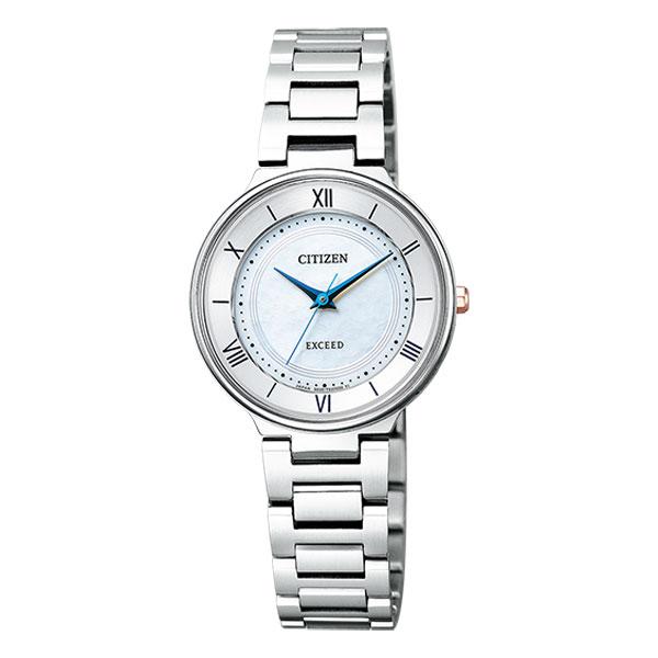 シチズン エクシード エコドライブ チタン レディース 腕時計 EX2090-57A CITIZEN EXCEED 取り寄せ品