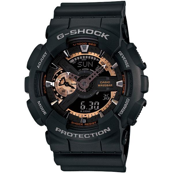 カシオ Gショック GA-110RG-1AJF ローズゴールド CASIO G-SHOCK メンズ腕時計 アナデジ 国内正規品 刻印対応、有料 取り寄せ品