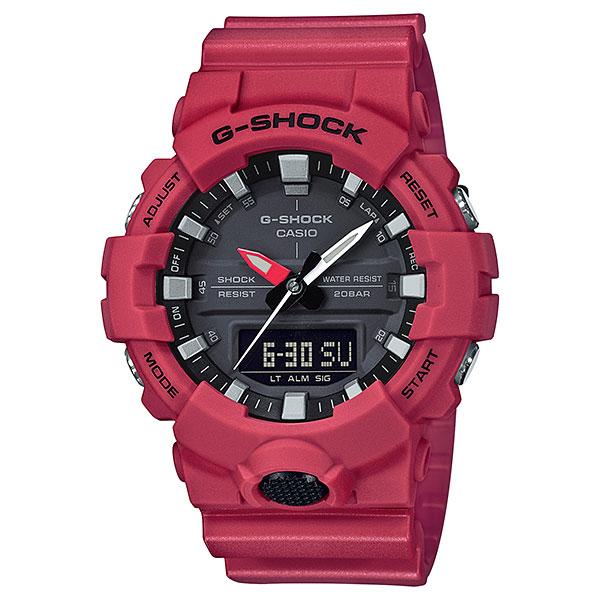 カシオ Gショック GA-800-4AJF 秒針付き CASIO G-SHOCK メンズ腕時計 アナデジ 国内正規品 刻印対応、有料 取り寄せ品