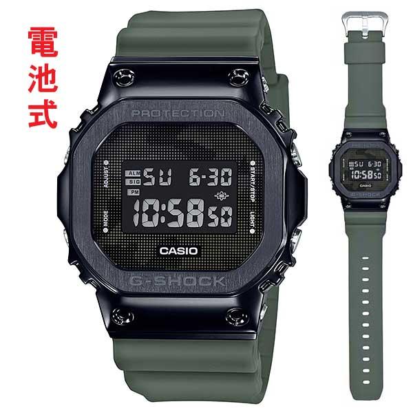 カシオ ジーショック 腕時計 CASIO G-SHOCK メンズ GM-5600B-3JF 国内正規品 名入れ刻印対応、有料