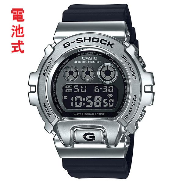 G-SHOCK Gショック ジーショック CASIO カシオ デジタル メンズ 腕時計 GM-6900-1JF 国内正規品 刻印対応、有料