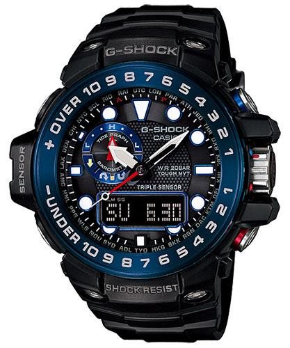 カシオ Gショック ガルフマスター ソーラー電波時計 メンズ 男性用 腕時計 CASIO G-SHOCK GWN-1000B-1BJF 国内正規品 取り寄せ品