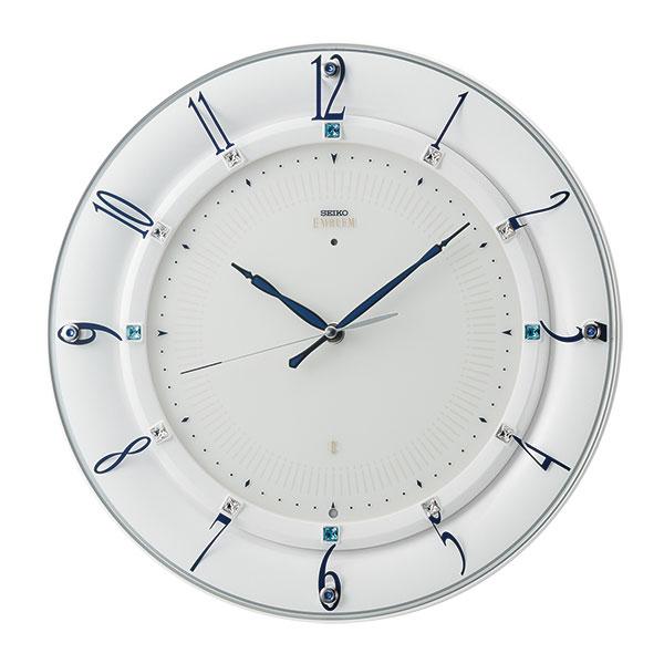 壁掛け時計 セイコー SEIKO 電波時計 エンブレム EMBLEM HS559W 取り寄せ品