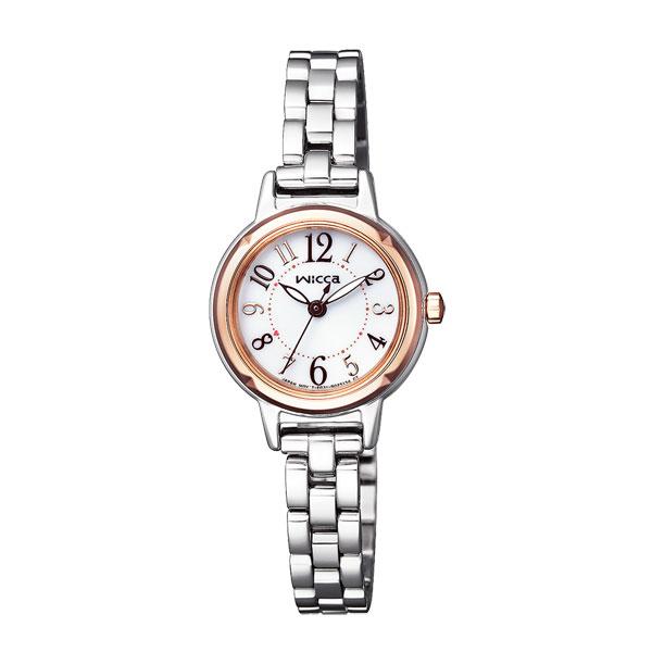 シチズン ウイッカ CITIZEN wicca ソーラー時計 KP3-619-11 女性用腕時計 取り寄せ品