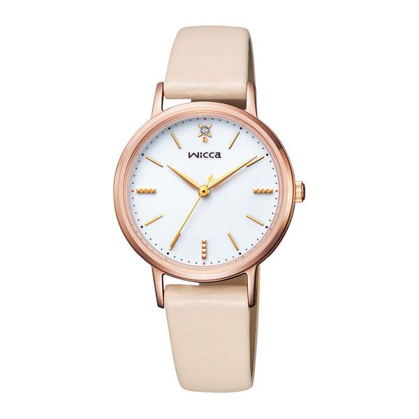 シチズン ウイッカ CITIZEN wicca ソーラー時計 KP5-166-10 女性用腕時計 刻印対応、有料 取り寄せ品