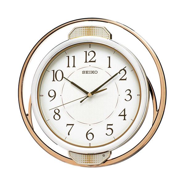 暗くなると秒針を止め 音がしない 壁掛け時計 振り子 電波時計 掛時計 PH207G セイコー SEIKO 取り寄せ品