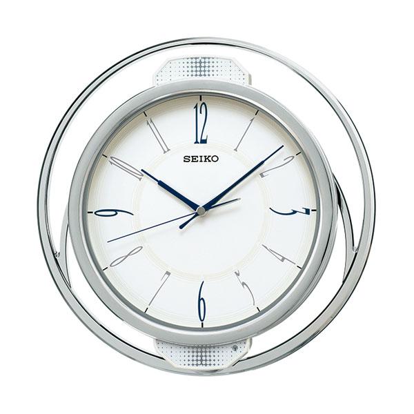 暗くなると秒針を止め 音がしない 壁掛け時計 振り子 電波時計 掛時計 PH207W セイコー SEIKO 取り寄せ品