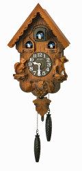 はとトケイ ハト時計 壁掛け時計 カッコーパンキー リズム時計 RHYTHM 掛時計 4MJ221RH06 文字名入れ不可 取り寄せ品