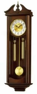木枠の柱時計 リズム RHYTHM キャロラインR 壁掛け時計 4MJ742RH06 文字入れ対応《有料》 取り寄せ品