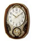 からくり時計 メロディ電波時計 壁掛け時計 4MN513RH23 文字入れ対応《有料》取り寄せ品