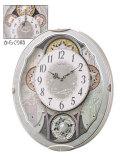 からくり時計 メロディ 電波時計 スモールワールドビスト 4MN537RH04 リズム RHYTHM 文字入れ対応、有料 取り寄せ品