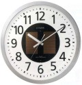 壁掛け時計 シチズン CITIZEN ソーラー電波時計 エコライフ かけ時計 4MY815-019 裏面のみ文字入れ対応、有料 取り寄せ品
