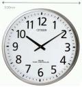 直径55cmの電波掛時計 シチズン(CITIZEN)壁掛け時計 4MY821-019 文字入れ対応《有料》 ZAIKO
