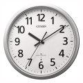 壁掛け時計 電波時計 スリーウェイブ 4MY853-019 掛時計 シチズン 文字入れ対応、有料 取り寄せ品