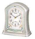 置き時計 シチズン 電波 置時計 CITIZEN 電波時計 4RY694-019 記念品に文字入れ 名入れ対応《有料》 取り寄せ品