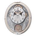 からくり時計 メロディ 電波時計 スモールワールドノエルNS 8MN407RH03 リズム RHYTHM 文字入れ対応、有料 取り寄せ品