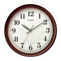 シチズン 電波時計 CITIZEN 暗くなると秒針 音のしない 壁掛け時計 8MY554-006 文字入れ対応、有料 取り寄せ品