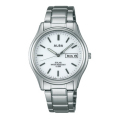 ALBA アルバ AEFD541 ソーラー メンズ 腕時計 男性用 名入れ刻印対応、有料 取り寄せ品