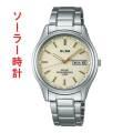 ALBA アルバ AEFD542 ソーラー メンズ 腕時計 男性用 名入れ刻印対応、有料 ZAIKO