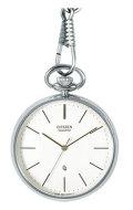 シチズン CITIZEN 懐中時計 BC0420-61A 提げ時計 ポケットウオッチ 鎖つき 名入れ刻印対応《有料》 取り寄せ品
