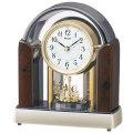 セイコー 電波時計 BY238B メロディ置き時計 回転飾り付き SEIKO 文字名入れ対応、有料 取り寄せ品