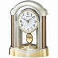 セイコー 電波時計 BZ238B 置き時計 振り子付き SEIKO 文字名入れ対応、有料 取り寄せ品