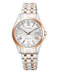 シチズン エクシードEC1124-58A 女性用 腕時計 ソーラー電波時計 CITIZEN レディースウオッチ 取り寄せ品