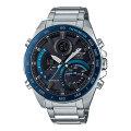 携帯電話スマホと連携で時刻修正 ECB-900YDB-1BJF ソーラー メンズ腕時計 カシオ エディフィス 取り寄せ品