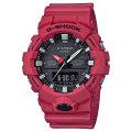カシオ Gショック GA-800-4AJF 秒針付き CASIO G-SHOCK メンズ腕時計 アナデジ 国内正規品 刻印対応、有料