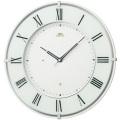 壁掛け時計 セイコー SEIKO 電波時計 エンブレム EMBLEM HS542W 文字入れ対応《有料》 送料無料 取り寄せ品