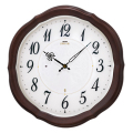 壁掛け時計 セイコー SEIKO 電波時計 エンブレム EMBLEM HS544B 文字入れ対応《有料》 送料無料 取り寄せ品