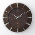 壁掛け時計 セイコー SEIKO 電波時計 エンブレム EMBLEM HS558A 文字入れ対応、有料 取り寄せ品