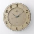 壁掛け時計 セイコー SEIKO 電波時計 エンブレム EMBLEM HS558B 文字入れ対応、有料 取り寄せ品