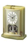 オニキス枠 エンブレム置き時計セイコー SEIKO EMBLEM HW465G 文字入れ対応《有料》 送料無料 取り寄せ品
