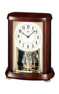 置き時計 セイコー SEIKO エンブレム 電波時計 EMBLEM HW566B 文字入れ対応《有料》 送料無料 取り寄せ品