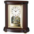 置き時計 セイコー SEIKO エンブレム電波時計 EMBLEM HW581B 文字入れ対応《有料》 送料無料 取り寄せ品