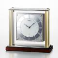 クオーツ時計 置き時計 セイコー SEIKO エンブレム EMBLEM HW598S 文字入れ対応、有料 取り寄せ品