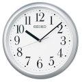暗くなると秒針を止め 音がしない 壁掛け時計 KX218S 電波時計 掛時計 セイコー SEIKO 文字入れ対応、有料 ZAIKO