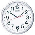 暗くなると秒針を止め 音がしない 壁掛け時計 KX229S 電波時計 掛時計 セイコー SEIKO 文字入れ対応、有料 取り寄せ品