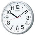 暗くなると秒針を止め 音がしない 壁掛け時計 KX230S 電波時計 掛時計 セイコー SEIKO 文字入れ対応、有料 取り寄せ品