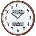 温度・湿度・デジタルカレンダー 電波時計 壁掛け時計 掛時計 KX383B セイコー SEIKO 文字入れ不可